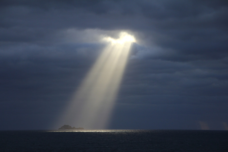 Cape Horn with the special light
