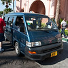 The taxi we took over to Atlantis for eight dollars. We decided it would be easier to walk back.
