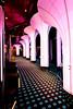 Interior decor at the theater of the Costa Deliziosa cruise ship.