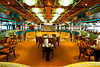 A dance venue lounge on the Costa Deliziosa cruise ship.