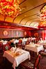 A small private dining room on the Costa Deliziosa cruise ship.