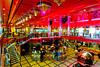 The center atrium of the Costa Deliziosa cruise ship.