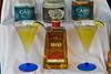 A liquor display on the Holland America cruise ship Noordam.