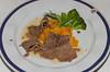 Dutch favorite Brisket of Beef dinner on the Holland America cruise ship Ryndam.