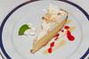 Key Lime Pie dessert on the Holland America cruise ship Ryndam.