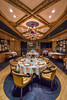 The Pinnacle Grill dining room on the Holland America cruise ship Volendam.