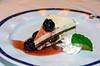 Black Forest cake dessert on the Holland America cruise ship Westerdam.