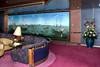 The Explorations Lounge on the Holland America cruise ship Zaandam.