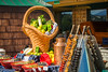A South American barbeque onboard the Holland America cruise ship Zaandam.