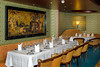 The upscale Pinnacle Grill restaurant on the Holland America cruise ship Zaandam