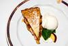 Apple pie with ice cream dessert on the Holland America cruise ship Zaandam
