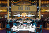The Rotterdam dining room on the Holland America cruise ship Zaandam