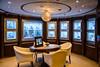 Interior decor of the Holland America cruise ship Zaandam.
