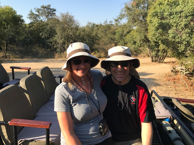 "But, even though the rooms & food were great at the Lodge, by far the major highlight was the 6 ""Game Drives"" we did from our open-air jeep... we saw SO MUCH wildlife during these rides... it was an experience of a life-time... keep clicking to get a taste of all the amazing animals we saw!"