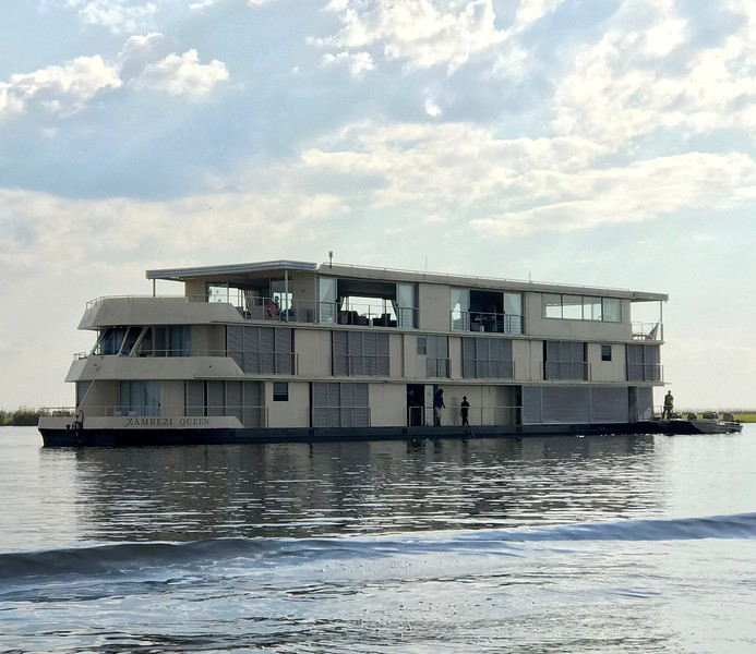 """After our 3 night stay in Beautiful Cape Town we flew to Botswana to board the """"Zambezi Queen"""" in Namibia... she was for sure a wonderful host for our 4 nights onboard! Fitting just 28 guests it's more of a """"House Boat"""" feel then a River Cruise but overall the Queen is a great way to see the wildlife in this region!"""