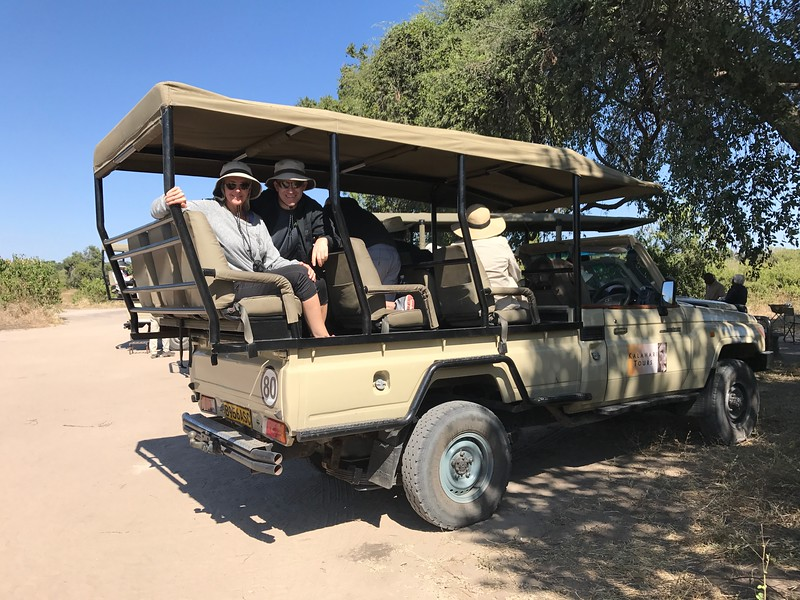 "As much as we loved doing our ""Water Safaris"" by boat in Botswana & Namibia during our time on the Chobe River, we also loved the day we went into Chobe National Park in Botswana and did a ""Land Safari""."