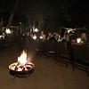 """The meals at the """"Tintswalo Lodge"""" were all excellant for sure but the venues were cool too like when we sat out back on the Lodge's patio with wildlife hanging around and our evening dinner outside under the stars was pretty special too! :-)"""