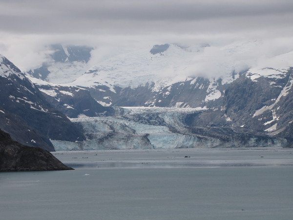 "There's a stunning shot of the ""Johns Hopkins Glacier""... that's the best part of Glacier Bay... there are several major glaciers in there so the beautiful scenes keep on showing up while there! -)"