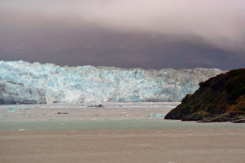 """There's our last glimpse of """"Hubbard Glacier"""". Make sure whichever Cruise to Alaska you take it includes a Major Glacier like """"Hubbard"""" or the ones in """"Glacier Bay""""... it'll definitely be a highlight of your trip!!"""