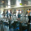 "Not as popular late into the evenings but definitely busy during the days, you'll always find great ""fitness centers"" at sea!!"