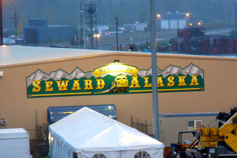 "After 8 Amazing days & nights visiting the Great Land of Alaska with ""Regent"", here we are on our final day disembarking in Seward, AK. FYI, all Cruiselines but Princess disembark here... it's about a 2.5 hour drive to Anchorage Airport."