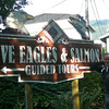 "About a 15 min walk north of ""Creek Street"" there was an Eagle Preserve & Salmon Hatchery center so we figured, as we're in Alaska, why not check it out!! :-)"