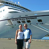 """Here we are about to get back on the """"Mariner"""" after a great day in Victoria. That's the great part about Cruising, you get to visit many different places and get back on your Luxurious Ship at the end of each day... unpacking just once!! :"""