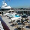 "There's a shot of the Pool Deck on the ""Mariner"". This is one of the nicest places you can eat on the Ship on a Warm, Sunny day!!"