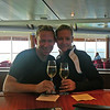 Here we are enjoying a Celebratory glass of Champagne for our 1st Anniversary... very Nice!! :-)