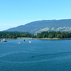"""There's a glimpse of Beautiful """"Stanley Park"""" in Downtown Vancouver with the """"Lion's Gate"""" bridge in the background. For those of you Cruising in/out of Vancouver, make sure to spend some extra time here... it's a Beautiful City!"""