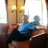 """There's Shawn taking it all in as we settle into our Suite that'll be our """"Home"""" over the next 8 nights. Believe it or not, some of the other guests on this Ship were settling in for 101 nights as this was the 1st segment of a """"World Cruise!"""""""