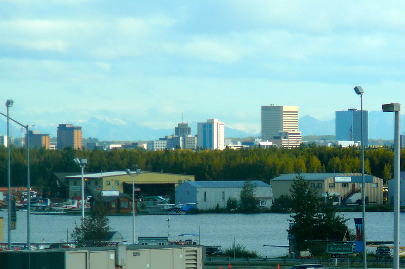 "There's a shot of Downtown Anchorage as we drove to Anchorage Airport. Well, it's been a great vacation to Alaska & a great experience with Regent... we'll definitely Cruise with Regent again & visit Alaska again!!<br /> <br /> You can see our ""Alaska"" blog post here <a href=""https://www.nancyandshawnpower.com/alaska-cruise-options-highlights/"">https://www.nancyandshawnpower.com/alaska-cruise-options-highlights/</a> that explains the different Cruise options you can take to Alaska & it shows some of the highlights of what you can see & do up there!"