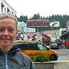 "There's Nancy looking excited as we make our 1st Port stop in ""The Land of the Midnight Sun"" to none other then Beautiful Ketchikan!!"