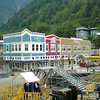 One thing is for certain, Juneau is a colorful town!! Surrounded by Mountains it's definitely one of the prettiest Cruise Ports you'll ever experience!!
