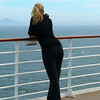 "And Nancy again being ""enchanted"" by the Sea which brings her back Cruising again and again and again... and again. :-)"