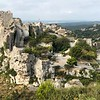 "As we hiked we were treated to views of ""Les Baux-de-Provence"" which is a hill-side Town we visited a few years back... VERY nice little Town for sure!!"