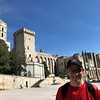 "There's Avignon's impressive ""Palais des Papes""!! (Palace of the Popes)"