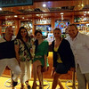 Newfound friends... always the best part about Cruising! There was are enjoying the White Night party with Paul & April from Reno and guest entertainer Katie from England who was one amazing Classical Piano Player!