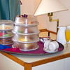 "On our ""Sea Day"" morning we enjoyed a little breakfast in bed we came with the special Celebration package we treated ourselves to... believe it or not, we ate everything on that tray. :-)<br /> <br /> Well, Cruise # 1 has come to an end but it definitely won't be our last... fun, fun, fun!! :-)"