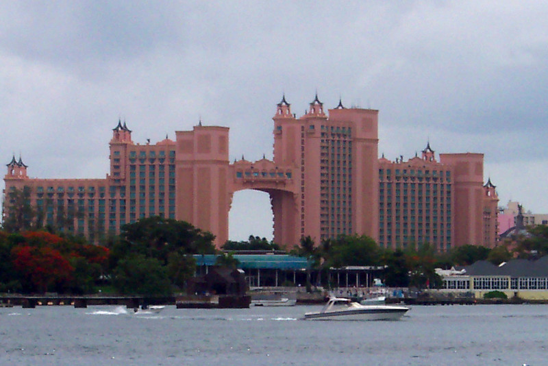 """Stop # 2 for us was in Nassau, Bahamas... there's the famous """"Atlantis"""" Resort on Paradise Island where you can stay if doing a land vacation in Nassau."""