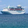 "There was our ""home"" for our 4 day Bahamas Cruise... Royal Caribbean's ""Sovereign of the Seas""."