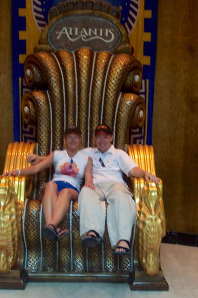 Looks like we're having fun in Atlantis. :-)