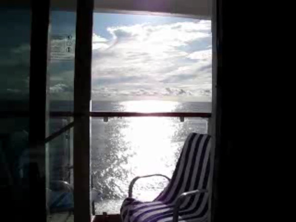 Click Play to watch this Video where Nancy shows you just how Beautiful having your own Balcony Stateroom truly is!!