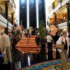 """Looks like we made it onto Cruise # 17... here's a """"Live Video"""" glimpse at the Lobby on """"Embarkation"""" day as the Ship starts filling with excitement & energy as everyone gets onboard anticipating the great week ahead."""