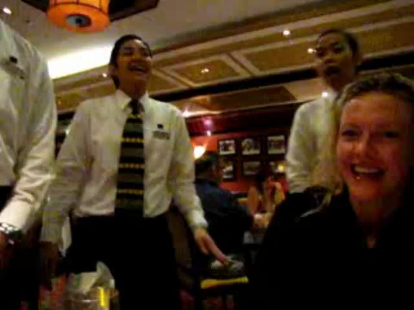 As mentioned earlier, they really help you Celebrate Special occasions on Cruise Ships... here's a Video of a great example of just how they do that!! :-)