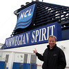 "Looks like Shawn is pretty Happy to be onboard ""Norwegian Spirit"" as we get ready to sail to Bermuda!"