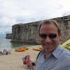Someone looks pretty Happy to be in Bermuda!! This beats working any day... we're sure you'll agree!! :-)