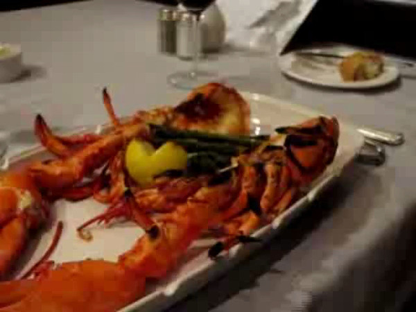 "One of our favorite places to eat onboard Princess' ships is at their Steakhouse... on the Caribbean Princess it's the ""Crown Grill""... well worth the $25 per person cover charge as this would be a couple of hundred dollar meal on land! Watch this video to see Nancy's Lobster & Shawn's Steak."
