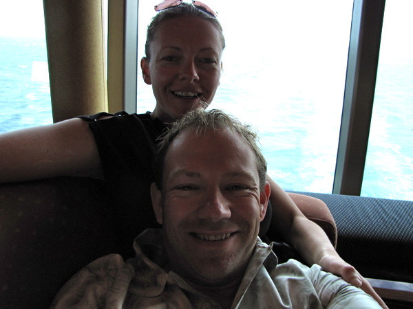 """Well, during our last day of this great Cruise, which was our only """"Sea Day"""", as we headed back to New York we just chilled out and relaxed... a great way to end a great Cruise!"""