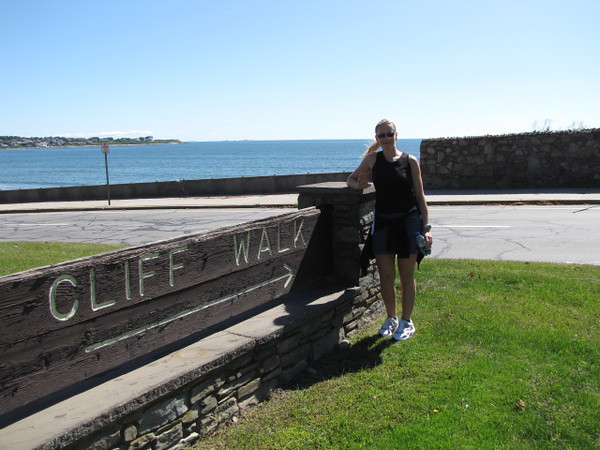 "After enjoying a great first night on the ""Caribbean Princess"" we made our 1st Port stop in Newport, Rhode Island... a definite Highlight in Newport is the Famous ""Cliff Walk""!! The 2.5 mile walk is a Beautiful one with amazing Oceanviews and Mansion after Mansion along the way!"